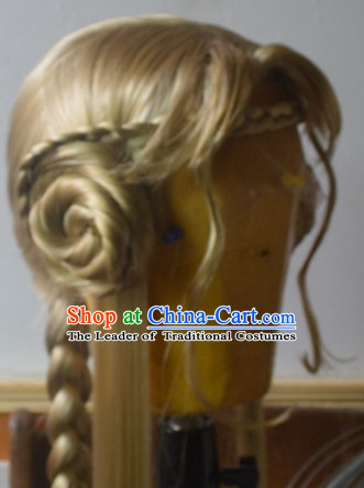 Ancient Chinese Long Wigs Wigs Afro Wigs Hair Extensions Cheap Chinese Wigs  Toupee Women Men Way ... 395d56b771
