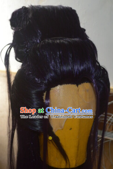 Ancient Chinese Long Wigs Wigs Afro Wigs Hair Extensions Cheap Chinese Wigs Toupee Women Men Way Hair Full Lace Brazilian Front Wig Weave online