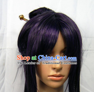 Ancient Chinese Wigs Female Wigs Toupee Wig Hair Extensions Sisters Weave Cosplay Wigs Lace and Hair Jewelry for Women
