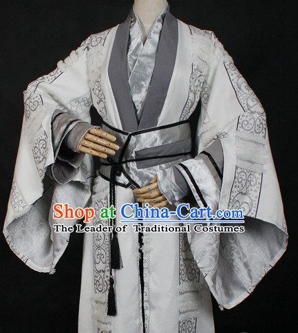 Chinese Classic Hanfu Garment Dress Costumes Japanese Korean Asian King Clothing Costume Dress Adults Cosplay for Men