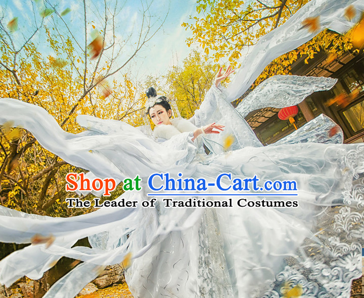 Chinese Ancient Princess Fairy Costumes Japanese Korean Asian Queen Costume Wholesale Clothing Garment Dress Adults Cosplay for Men