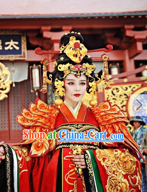 Wu Zetian Tang Emperor Hair Accessories