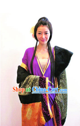 Ancient Chinese Heroine Costume Complete Set