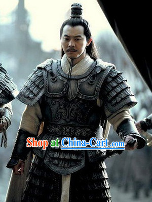 Chinese Ancient General Armor Costume for Men