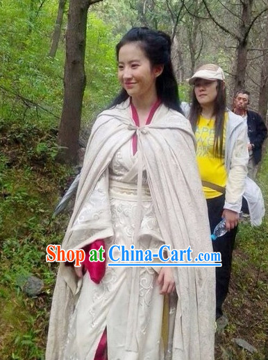 Ancient Chinese Knight Dresses for Women