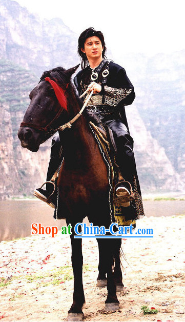 Ancient Chinese Superhero Male Adult Awesome Movie Costumes