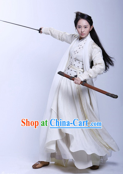 Chinese Classic Female Superhero Costumes