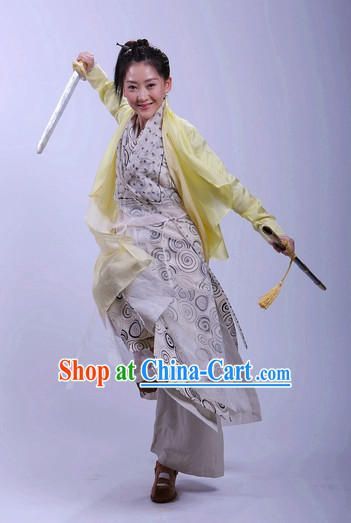 China Classical Female Superhero Clothes