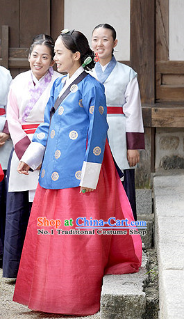 South Korean Palace Princess Costumes Dress online Shopping