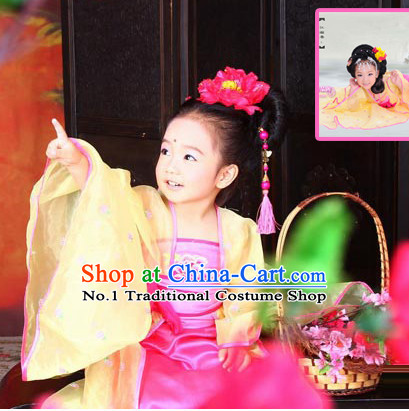 Ancient Chinese Princess Costume for Little Girls