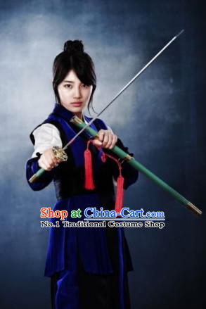 Traditional Korean Swordmen Costumes for Men