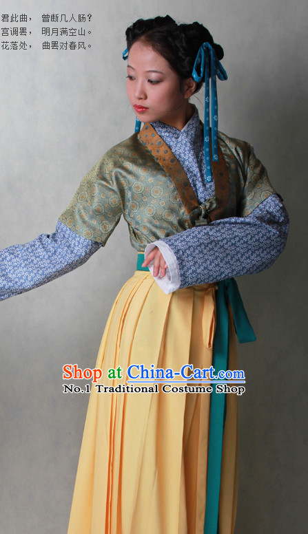 Chinese Traditional Hanfu Clothes for Women