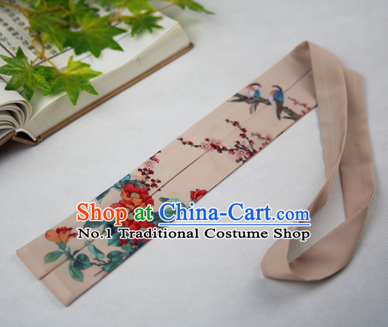 Chinese Classical Ribbon Headwear for Girls