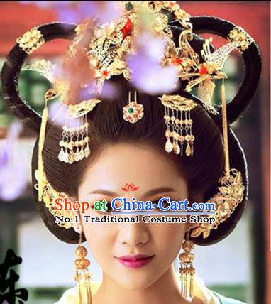 Chinese Traditional Princess Hair Accessories and Wig for Women