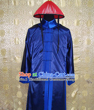 Chinese Qing Palace Guardian Theme Photography Costumes
