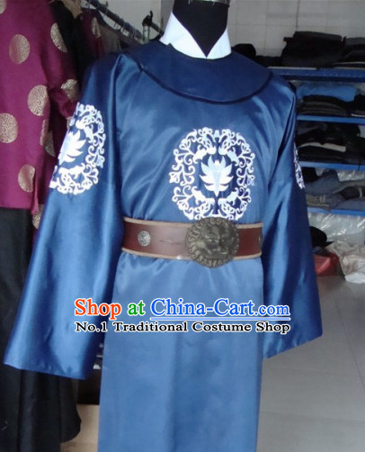 Chinese Stage Detective Official Costumes and Hat