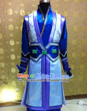 Chinese Knight Swordsman Theme Photography Costumes