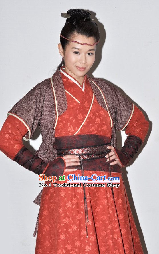 China School Master Kung Fu Women Uniform