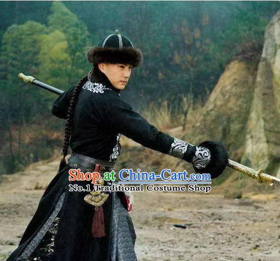 China Emperor Winter Long Jacket Clothing