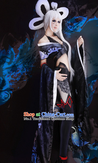 Asian Princess Sexy Eidolon Cosplay Costumes for Women