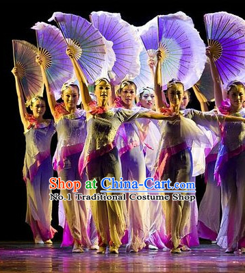 Competition Quality Chinese Silk Dance Fans