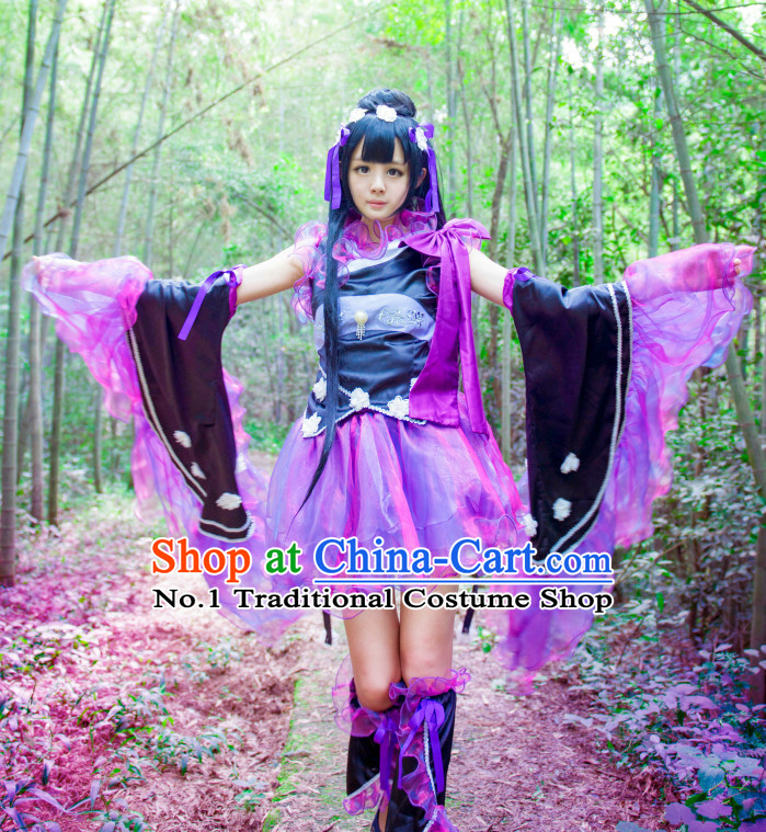 Chinese Anime Cosplay Costumes Complete Set