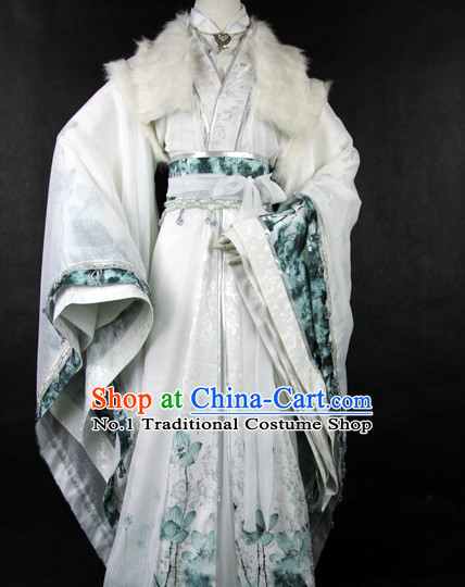 Chinese Traditional Costumes of Rich Family