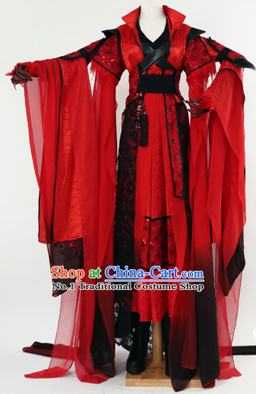 Supreme Chinese Princess Women Halloween Costumes Complete Set