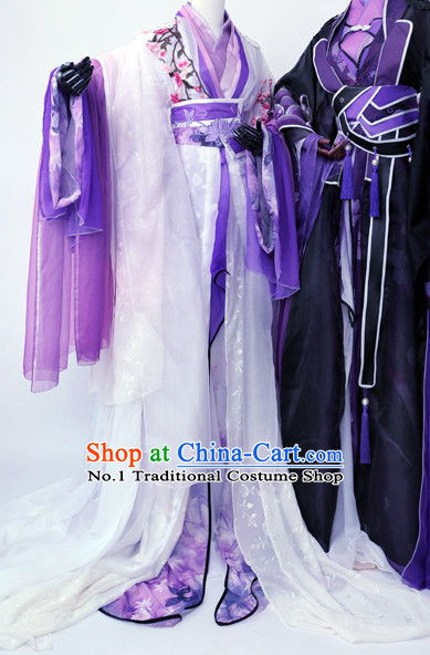 Ancient Chinese Palace Concubine Costumes Complete Set