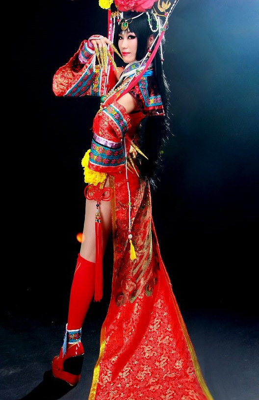 China Princess Cos Hair Asian Costumes Asian Fashion Chinese Fashion Asian Fashion online