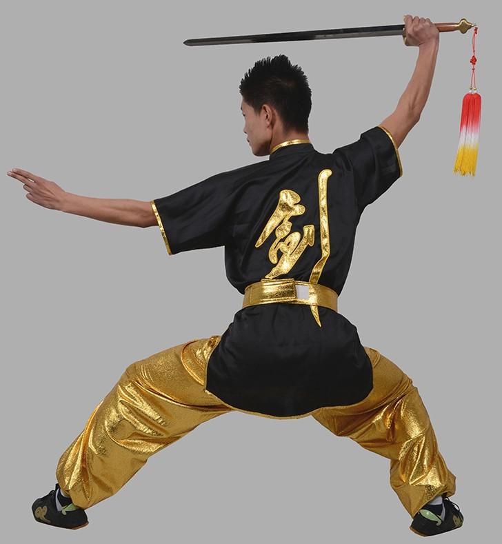 Kung Fu Clothing Beijing Short Sleeves Sword Chinese