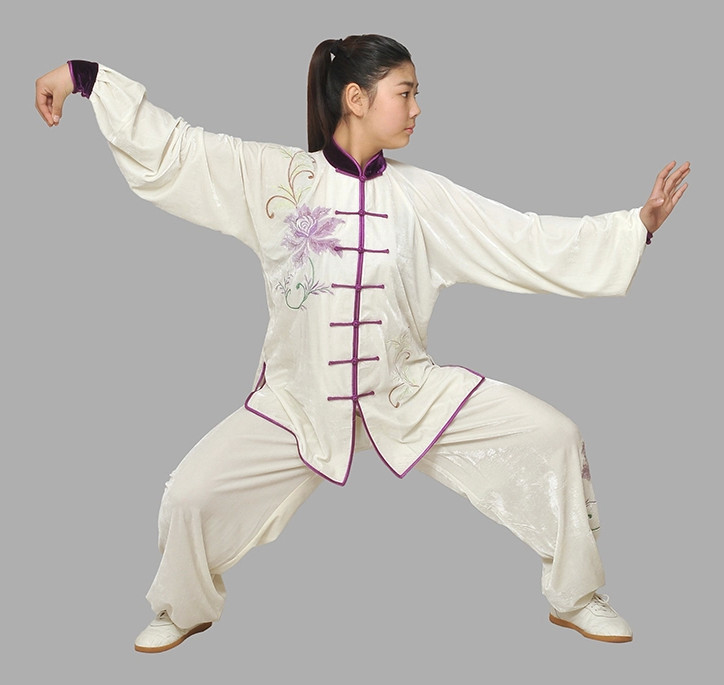 Long Sleeves Kung Fu Costumes Complete Set