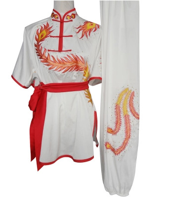 Top China Phoenix Embroidery Shaolin Monk Shaolin Monks Training Suits