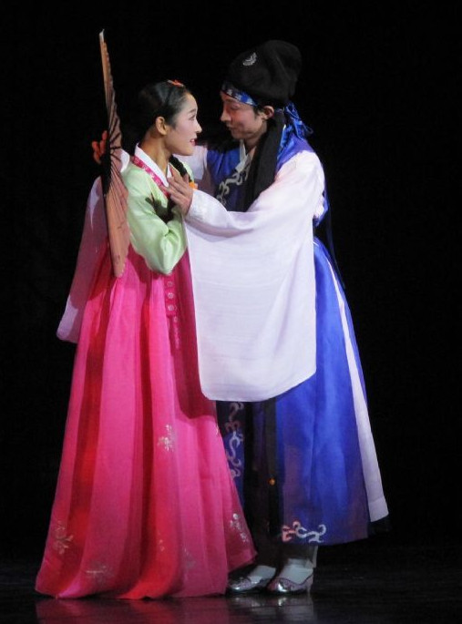 Korean Stage Performance Qiu Xiang Hanbok Dance Costumes Carnival Costumes Traditional Costumes