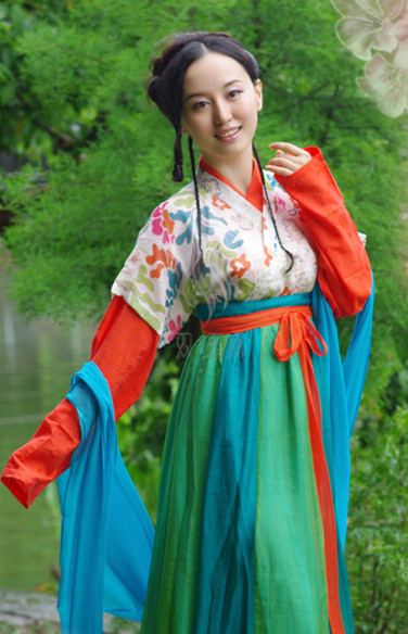 China Tang Costumes Carnival Costumes Dance Costumes Traditional Costumes for Women