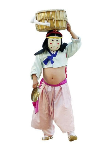Korean Traditional Folk Dance Costumes