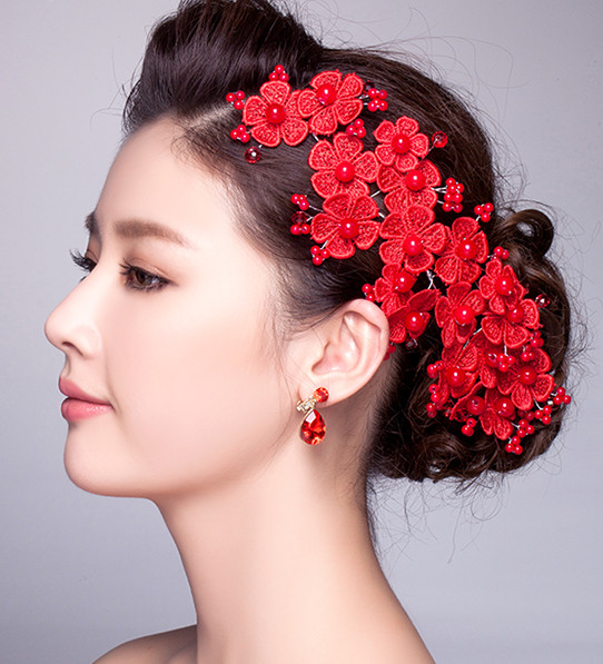 Top Chinese Bridal Hair Fascinators Jewellery
