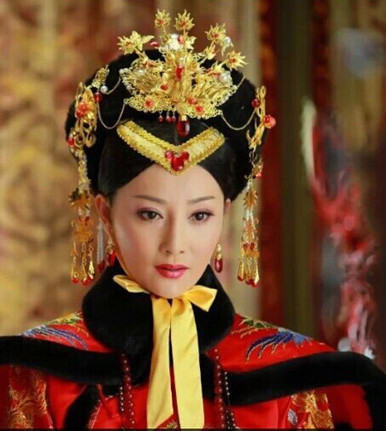 2ea62c299c6 Supreme Chinese Empress Hat and Phoenix Jewellery Accessories Wedding  Headpieces