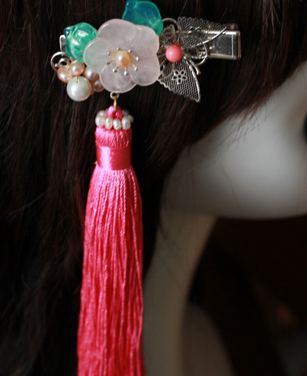 Chinese Traditional Handmade Hair Accessories Comb Fascinators Headbands Bridal Headpieces
