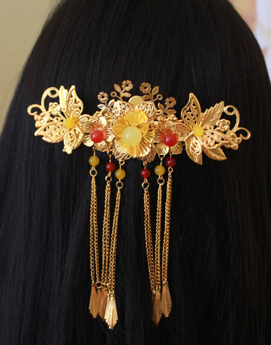 Chinese Empress Hair Accessories Comb Fascinators Headbands Bridal Headpieces