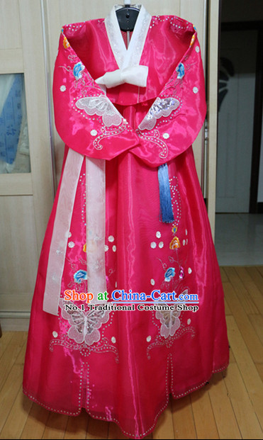 Asian Korean Hwang Jin Yi Hanbok Clothing for Women