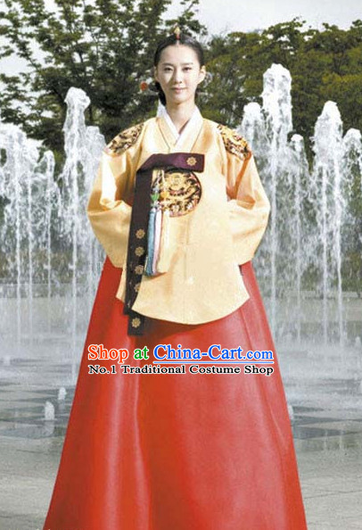 Dangui Korean Royal Costume Traditional Korean Queen Princess Ceremony Costumes