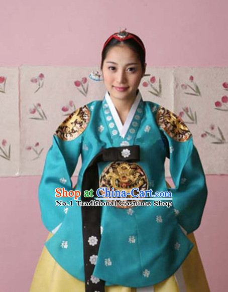 Dangui Korean Royal Costume Traditional Korean Queen Princess Ceremony Costumes for Women