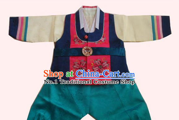 Traditional Korean Clothing Custom Made Boys Hanbok