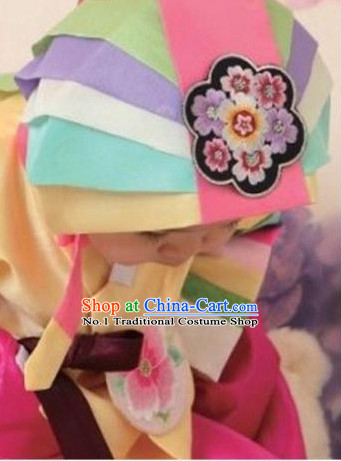 Korean Birthday Ceremonial Hat for Girls