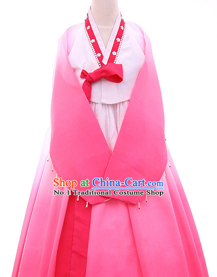 Korean Custom Made Female Dance Hanbok