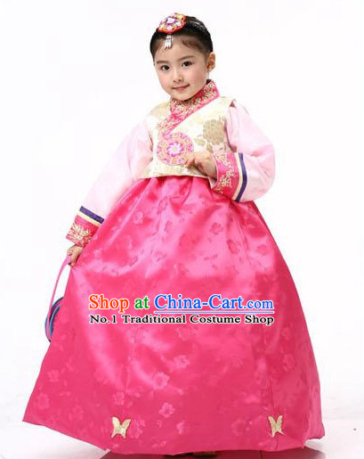 Korean Traditional Hanbok Dress Ceremonial Clothing Korean Fashion Shopping online for Kids