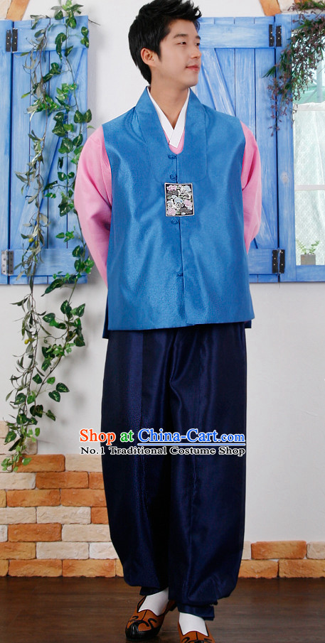 Korean Traditional Men Hanbok Dress Ceremonial Clothing Korean Fashion Shopping online