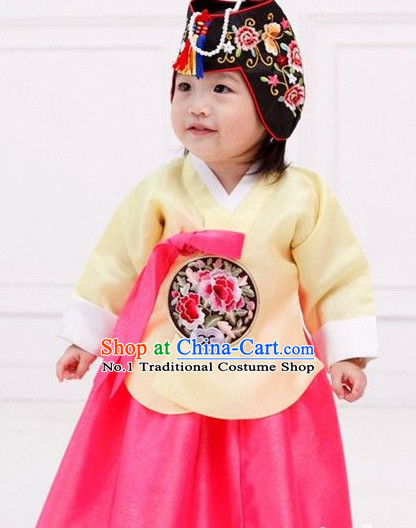 Korean Traditional Dress Dangui Hanbok Panier Korean Fashion Shopping online for Kids