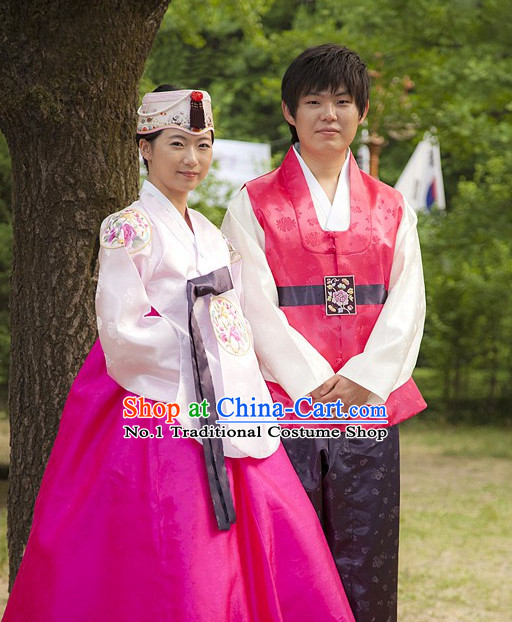 Top Korean Wedding Clothing Asian Fashion online Clothes Shopping National Costumes for Couple